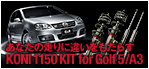 KONI 1150KIT for Golf5/A3